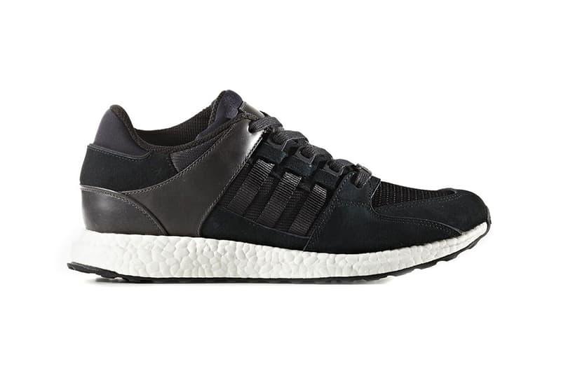 adidas Originals EQT Support Black Pack Footwear adidas Equipment Sneakers