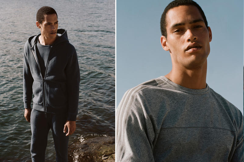 adidas Originals by wings+horns Campaign Blue Hoodie