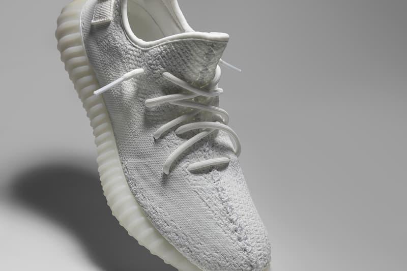 adidas Originals YEEZY BOOST 350 V2 Cream White GOAT All White Sneaker Kanye West