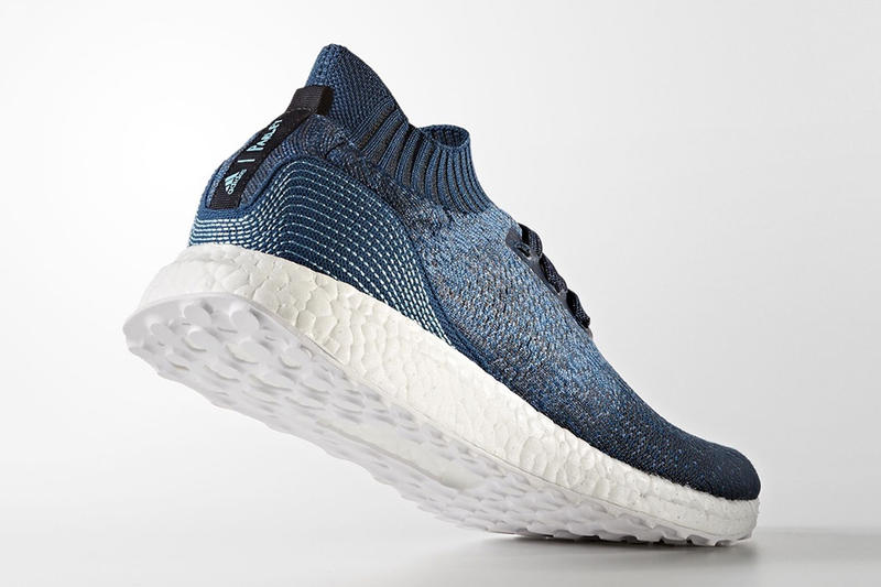 adidas x Parley for the Oceans UltraBOOST Uncaged Release Date Three Stripes
