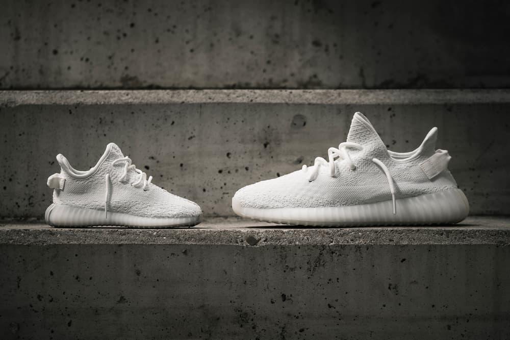 Kanye West adidas Originals YEEZY BOOST 350 V2 Cream White On Feet Closer Look