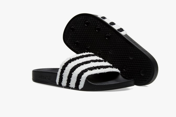 4fa0661f65c9 These Sweatband adidas Adilette Slides Are Pool-Ready