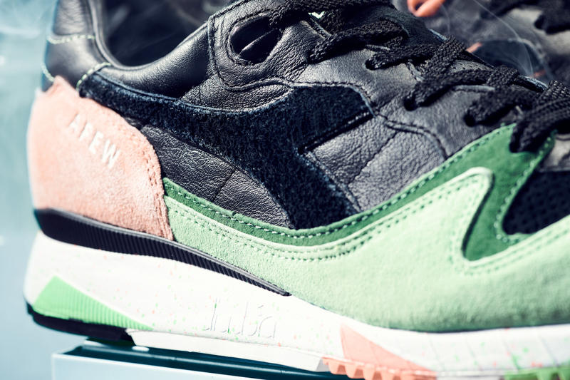 """Afew x Diadora V7000 """"The Cure"""" BEAMS T Friends and Family #afewaddicted"""