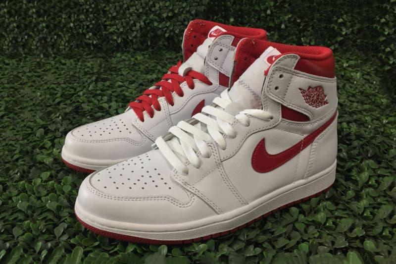 Air Jordan 1 Metallic Red Re-Release