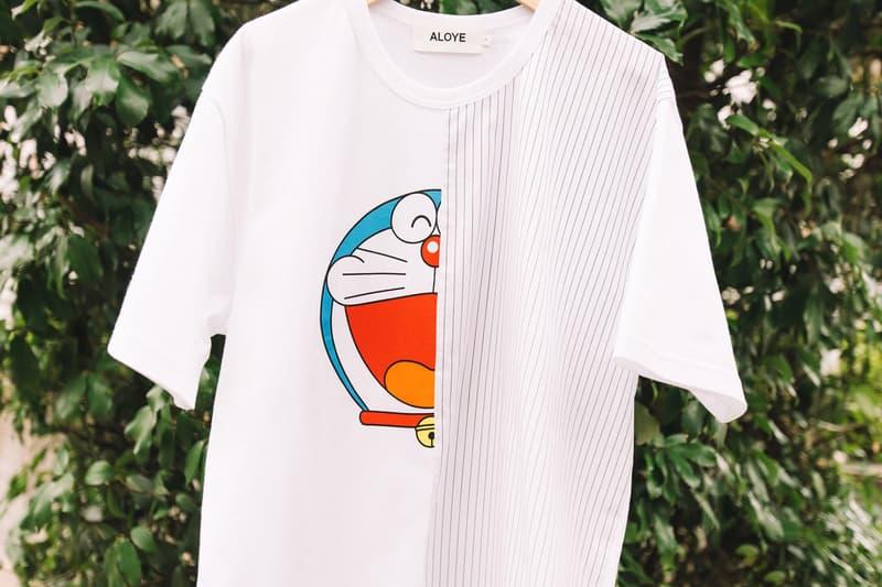 ALOYE Doraemon BEAMS T Capsule Collection