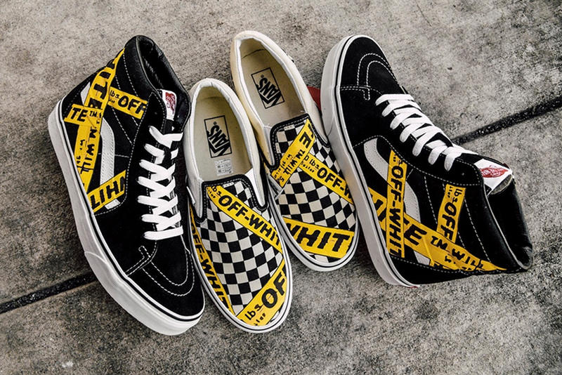 38a755d6dc AMAC Customs Drops an OFF-WHITE x Vans Pack