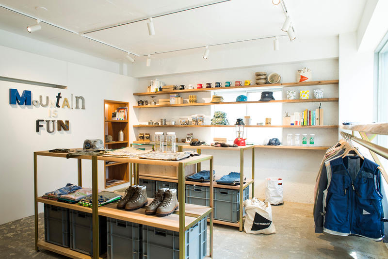 and wander Opens Its First Flagship Store in Tokyo.