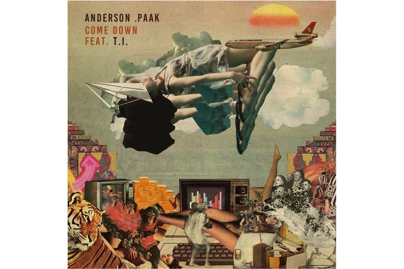 "Anderson .Paak ""Come Down"" Remix Schoolboy Q Ty Dolla Malibu LP Hi-Tek"