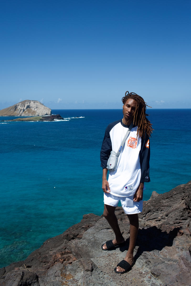 Anwar Carrots In4mation 2017 Spring/Summer Collection Beach Hawaii T-Shirts Limited Edition Lookbooks