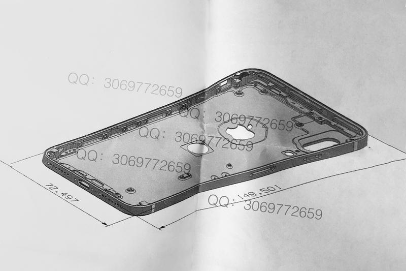 Apple iPhone 8 Touch ID Sensor Rear Leak Smart Phones Tim Cook