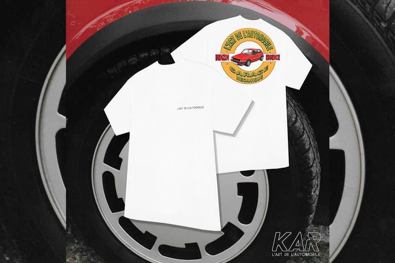 Arthur Kar Art de Automobile Collection colette Collaboration