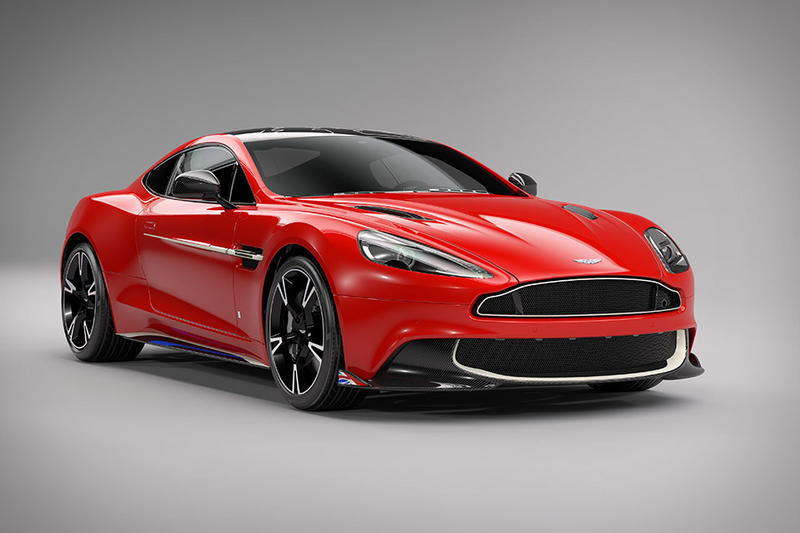 Aston Martin Vanquish S Red Arrows Edition Royal Air Force UK Britain