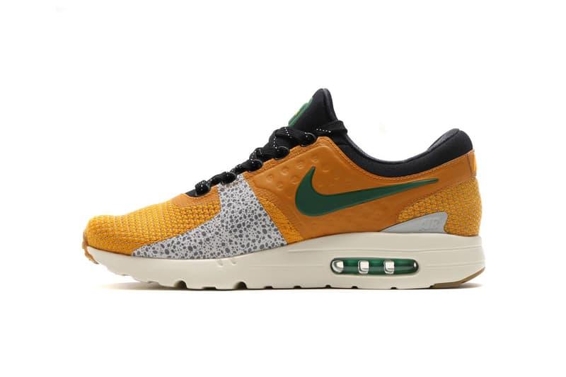 new styles c4c05 581ee atmos Nike Air Max Zero iD Safari Tiger Camo Snake
