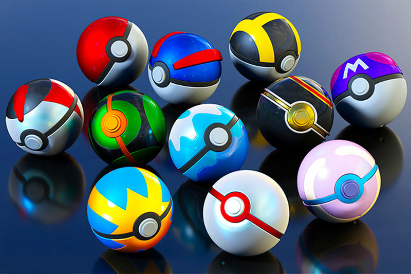 Bandai New Replica Poké Ball Series