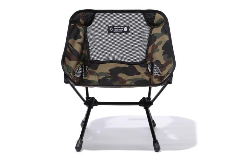 BAPE HELINOX 2017 Camping Collection Camo Tent Tables Bags A Bathing Ape CHACO NALGENE KLEAN KANTEEN LEATHERMAN Micra