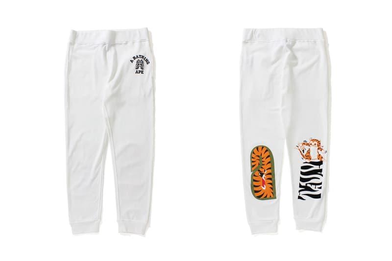 BAPE Tiger Shark Collection Swarovski Apparel Clothing Streetwear