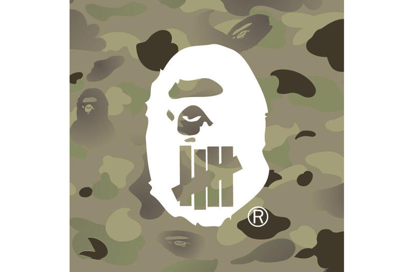 BAPE UNDEFEATED 2017 Collaboration A Bathing Ape