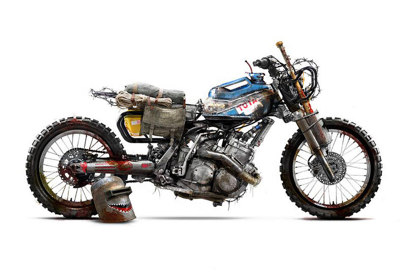 Barbara Custom Motorcycles Unveils Concept Designs Hypebeast