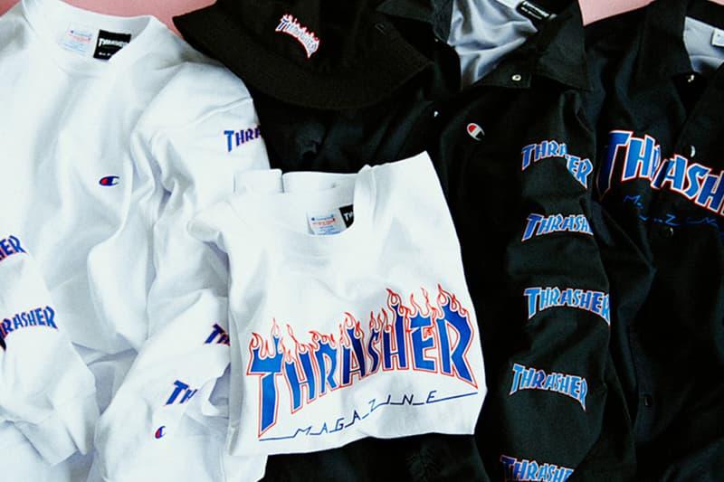 BEAMS Thrasher Collaboration Capsule Streetwear Fashion