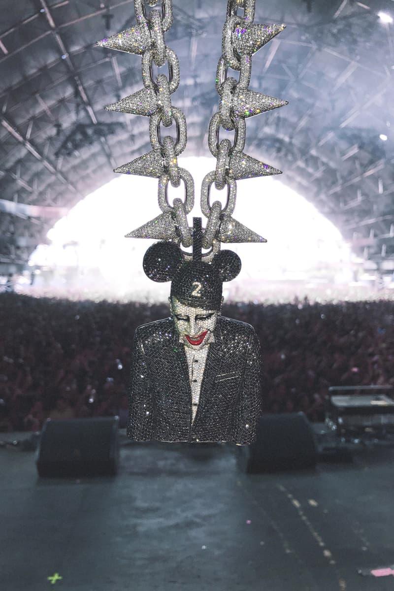 Lil Uzi Vert's Marilyn Manson Chain | HYPEBEAST