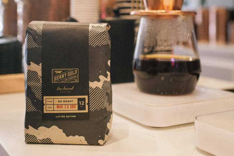 Benny Gold Four Barrel Coffee Special Edition Blend