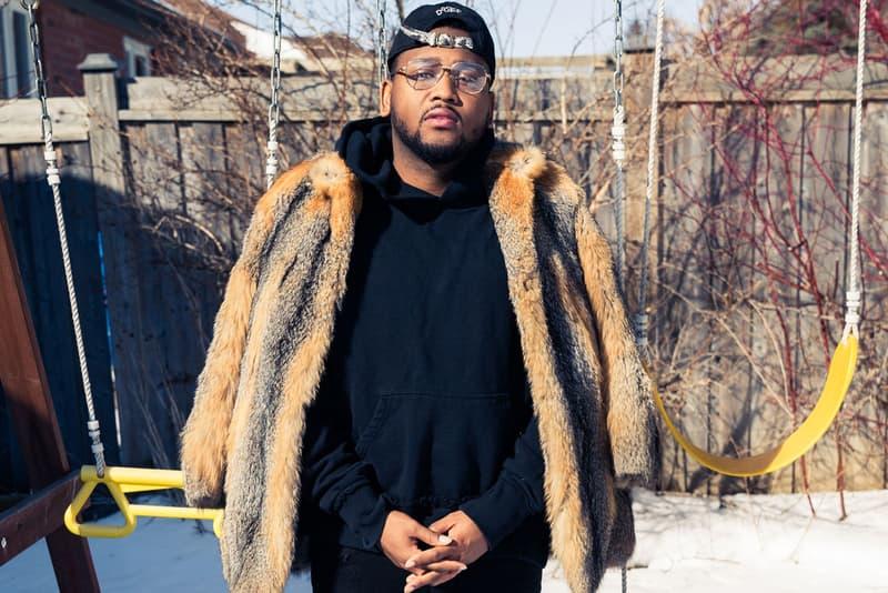 Boi-1da Coveteur Drake Producer Fur Coat