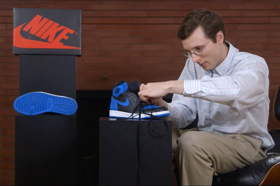 huge discount ad256 dbb53 Brad Hall Teaches How to Lace the Air Jordan 1