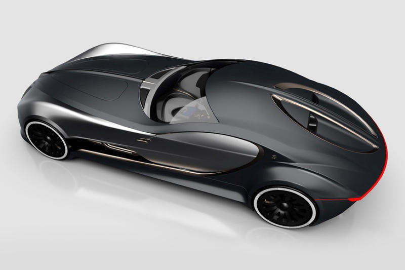 Bugatti Type 57T Future Concept