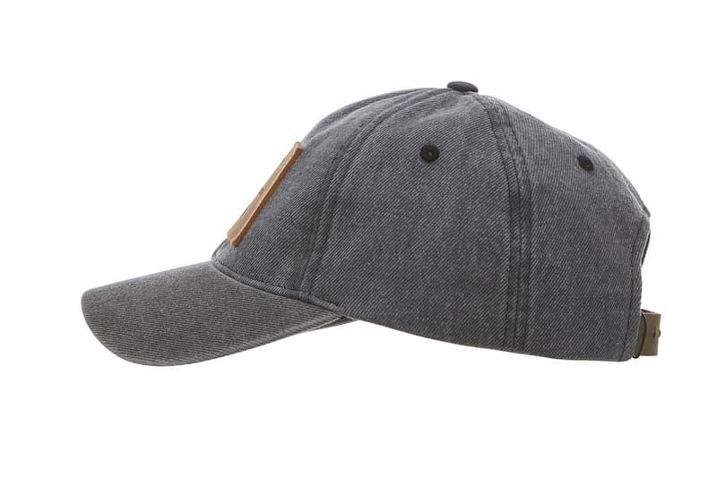 Calvin Klein Denim Logo Cap True Icon Collection 2017 Hat Baseball Cap Black Totale Eclipse