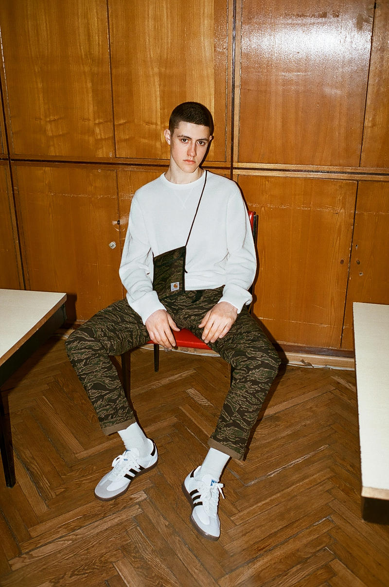 Carhartt WIP 2017 Spring Summer Broken Views Lookbook Tiger Stripe Workwear Alexey Kiselef Kixbox Ildar Iksanov