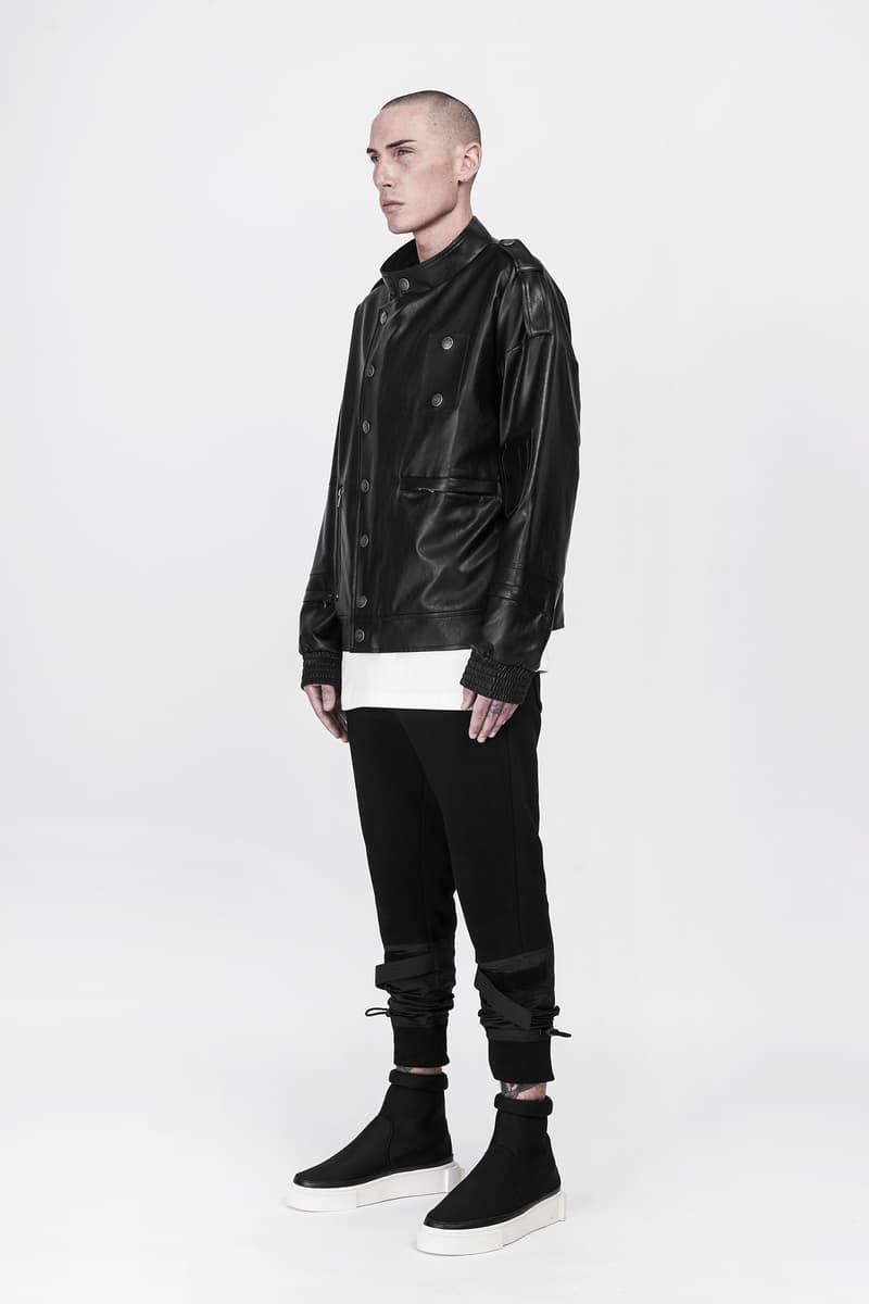 CGNY 2017 Spring Summer Black Leather Jacket
