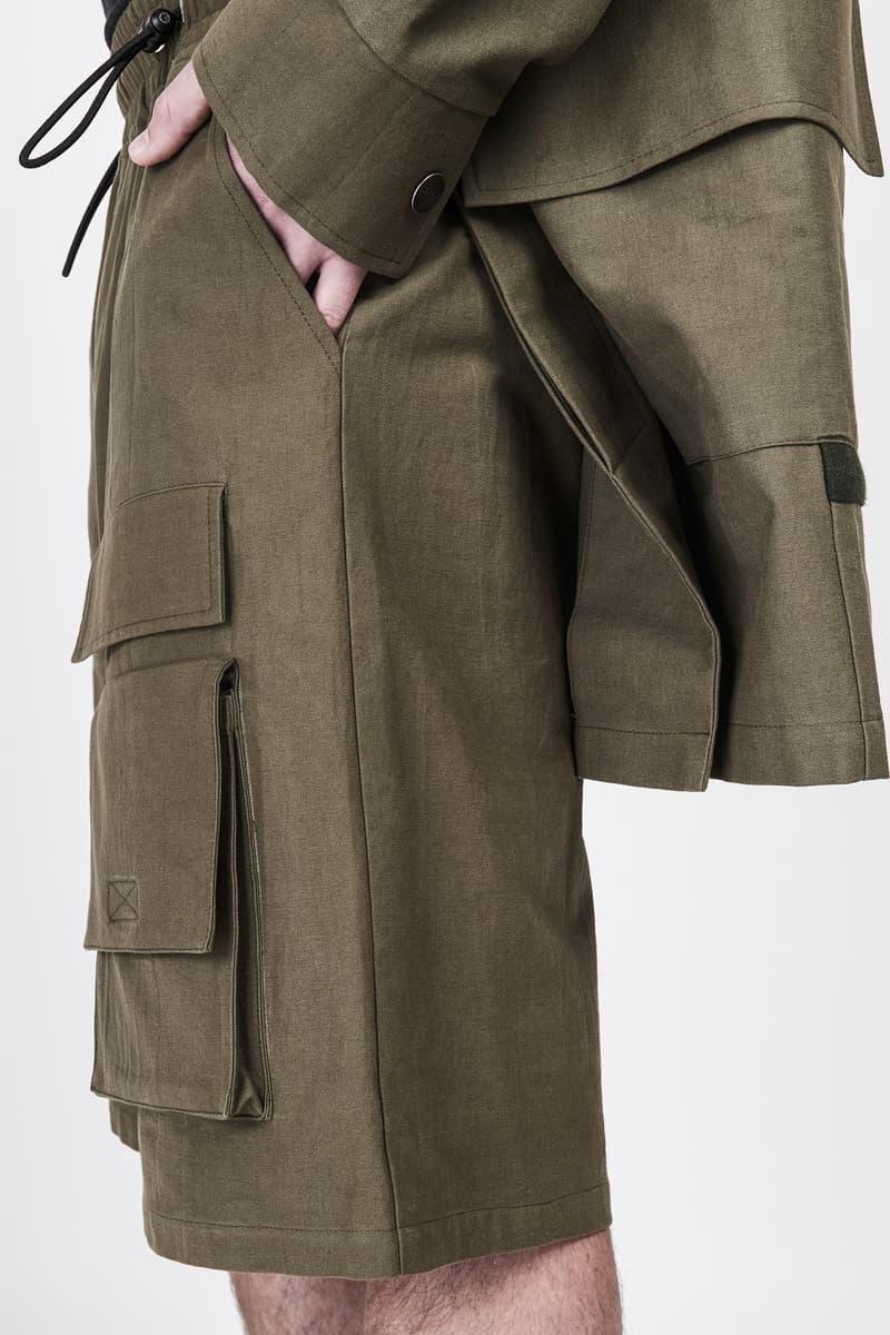 CGNY 2017 Spring Summer Green Overcoat