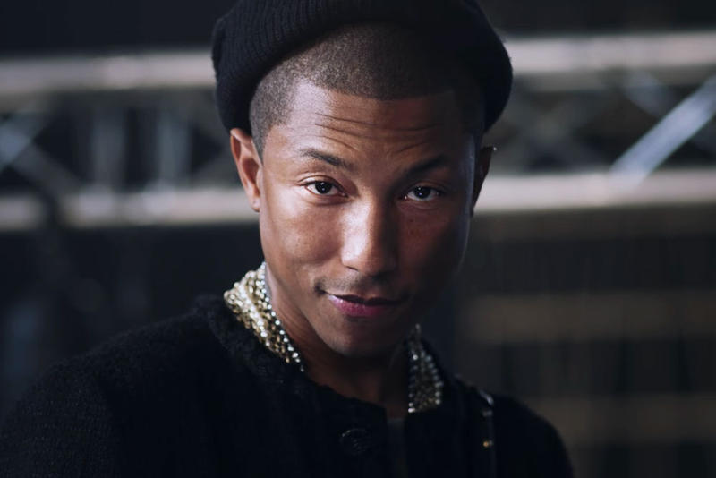 Pharrell Williams for Chanel Portrait