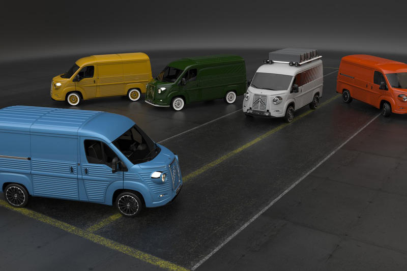 Citroën HY Van Type H Reinvention David Obendorfer Flaminio Bertoni