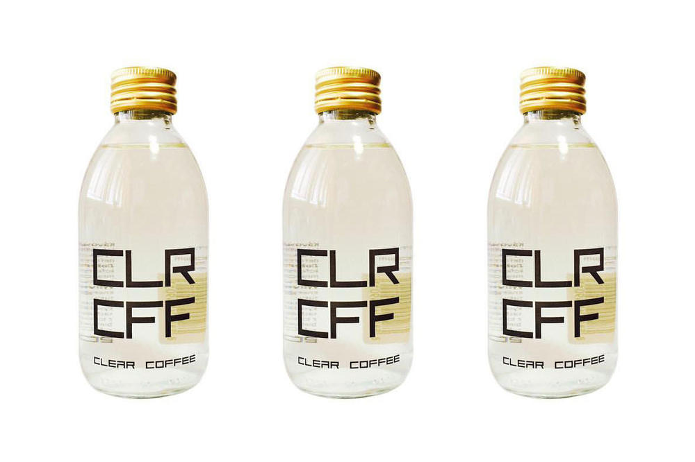 Clear Coffee Beverage CLR CFF Drinks