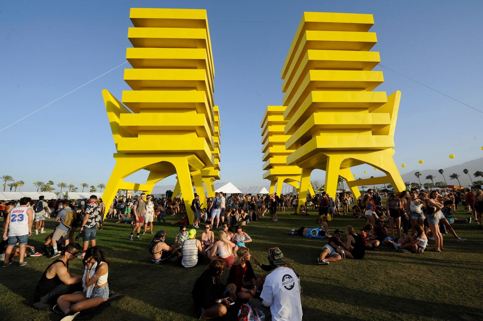 Alexandre Arrechea Katrina Chairs Coachella