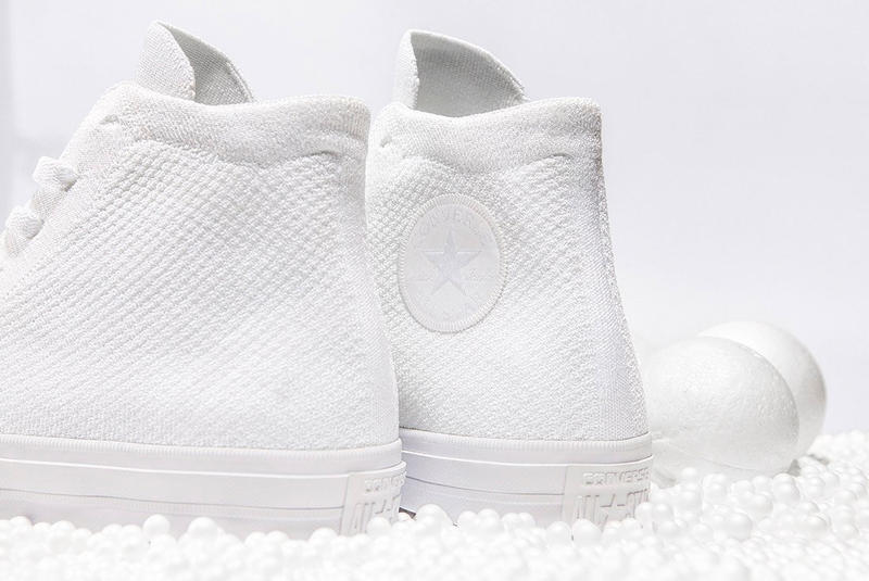 Converse Chuck Taylor All Star x Nike Flyknit All-White  62c7b065f