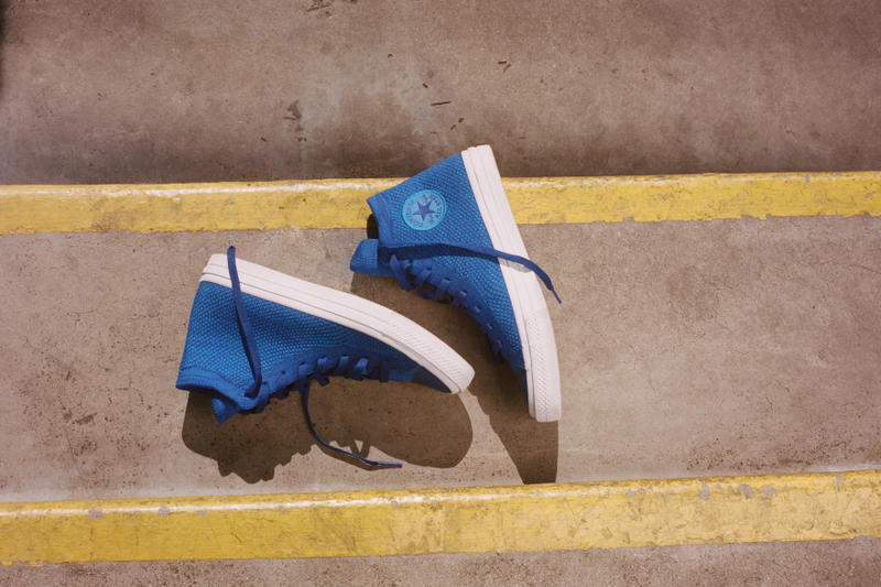 Converse Chuck Taylor All Star Nike Flyknit Black White Red Blue Teal Swoosh Chuck Taylor All Star