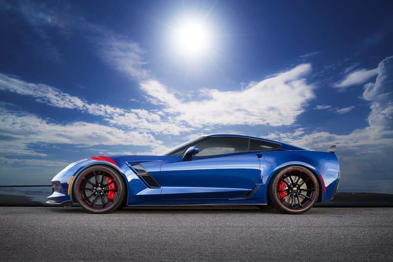Chevrolet Corvette Grand Sport Admiral Blue Heritage Edition Japan