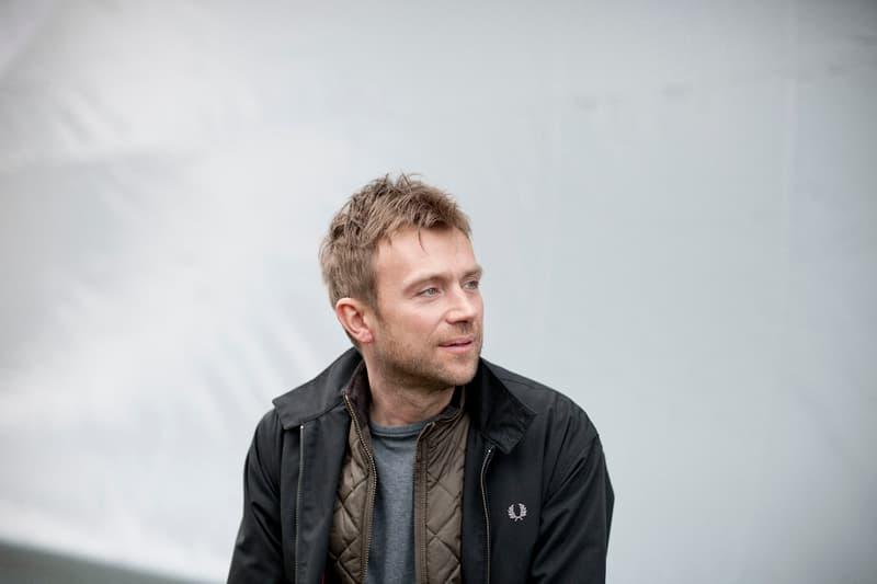 Damon Albarn Portrait