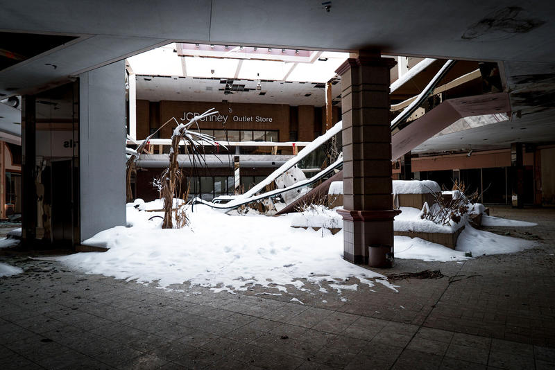 Abandoned Malls From Death of Retail