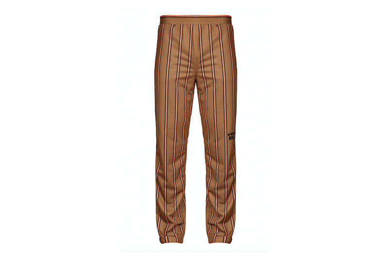 diadora msgm fw17 gold trousers