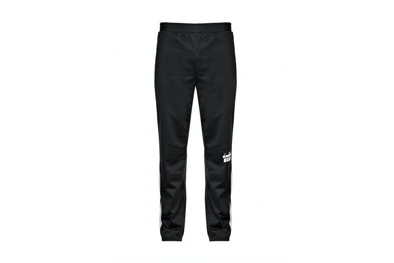 diadora msgm fw17 black trousers