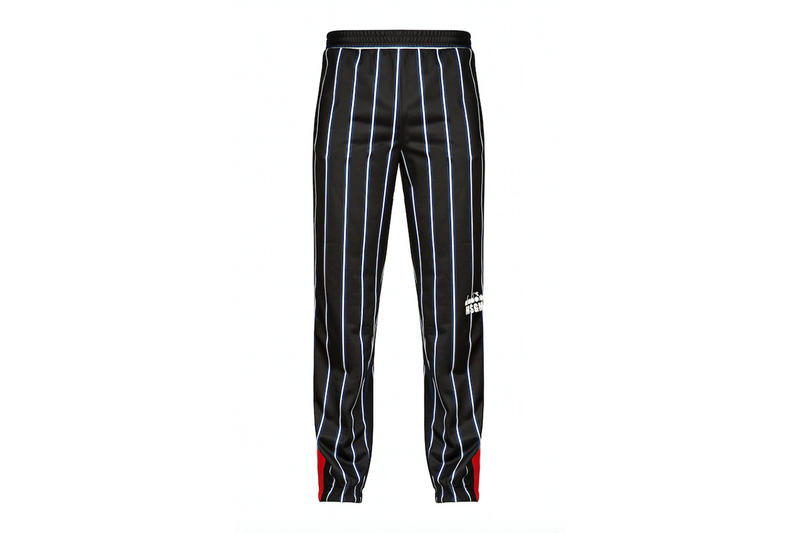 diadora msgm fw17 striped trousers
