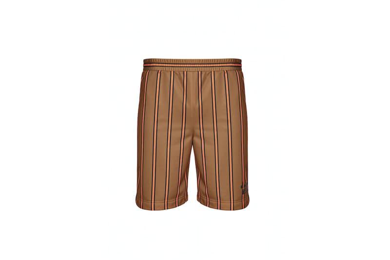diadora msgm fw17 gold shorts