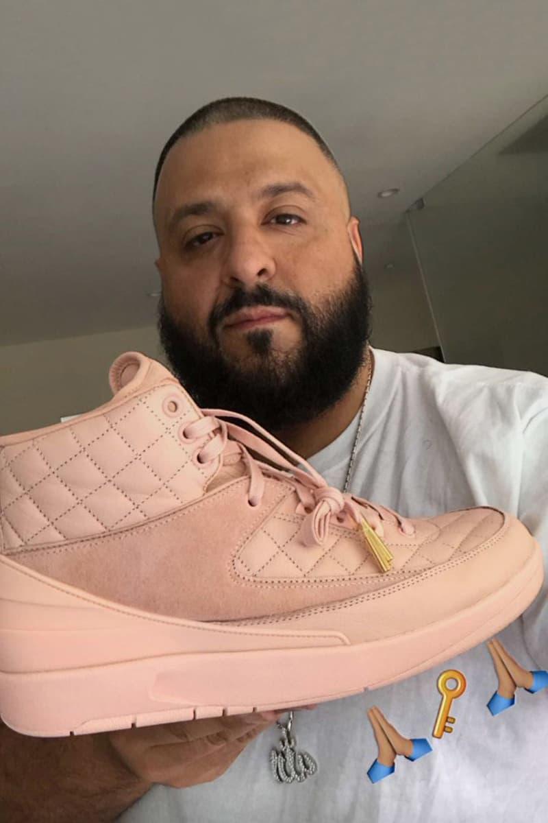 cf5fe519b74d DJ Khaled Just Don Air Jordan 2 Arctic Orange Footwear Sneakers Shoes  Jordan Brand