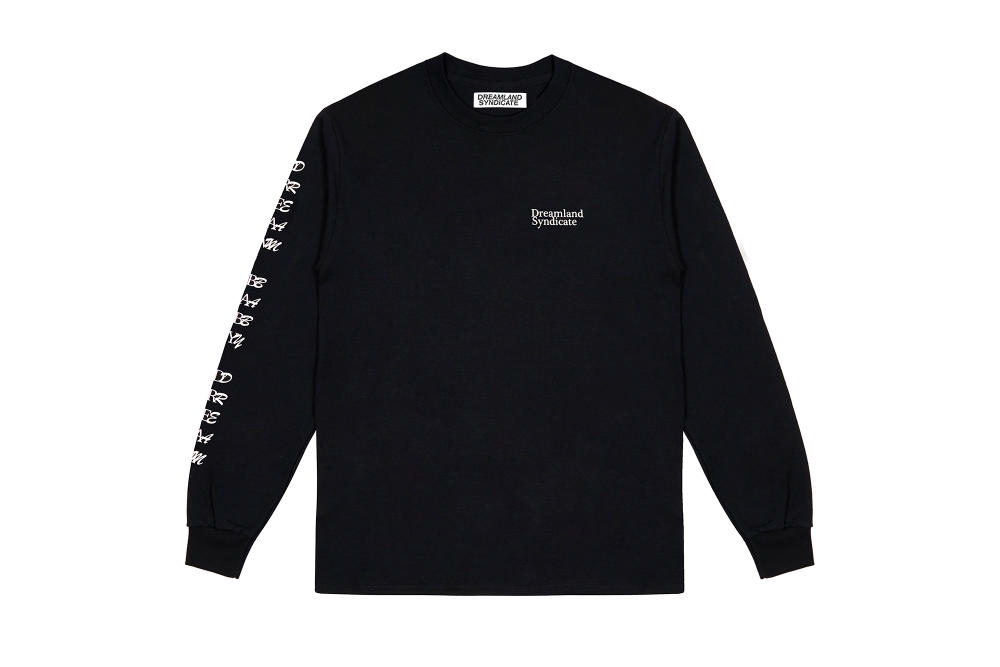 Dreamland Syndicate Black Long Sleeve T-Shirt