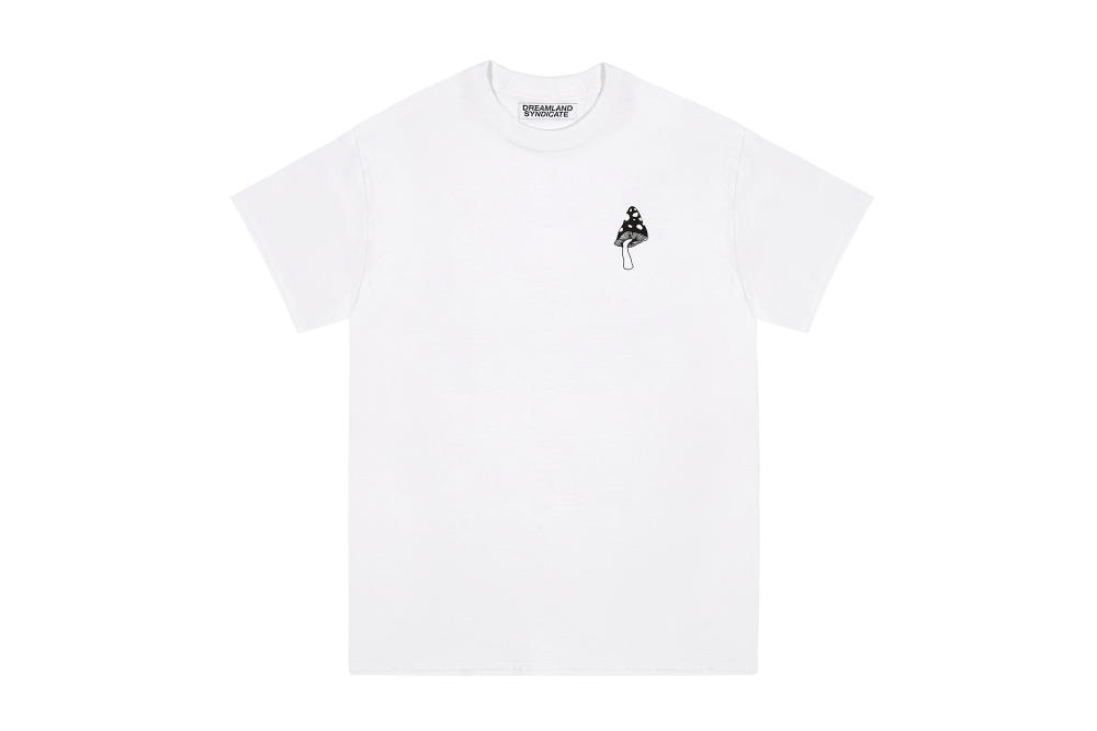 Dreamland Syndicate White Chest Logo T-Shirt