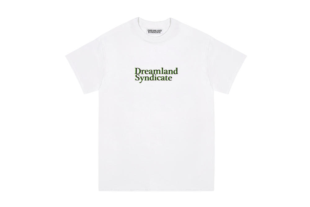 Dreamland Syndicate White Dreamland Syndicate Print T-Shirt