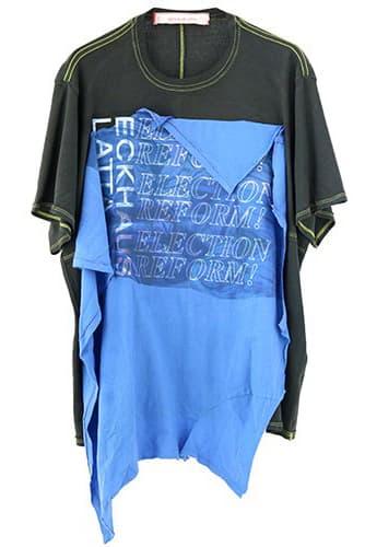 Eckhaus Latta B. Fowler Election Reform! Shirts